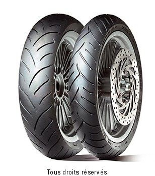 Product image: Dunlop - DUN630964 - Tyre   90/90-10 50J TL SCOOTSMART SCOOTSMART 50J TL