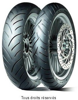 Product image: Dunlop - DUN630970 - Tyre   130/70-12 62S TL SCOOTSMART SCOOTSMART 62S TL