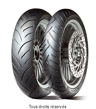 Product image: Dunlop - DUN630976 - Tyre   130/80-15 66S TL SCOOTSMART SCOOTSMART 66S TL
