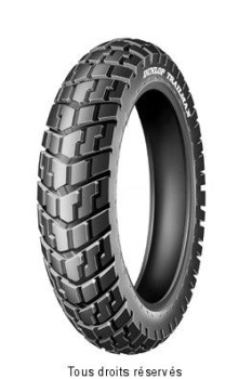 Product image: Dunlop - DUN651048 - Tyres enduro - cross 120x90 - 17.   Rear  ,   Brand : Dunlop  Category : Cross enduro tyre  Quality : Divers  120x90 - 17 trailmax 64s tt ar.  Banden enduro - cross 120x90 - 17