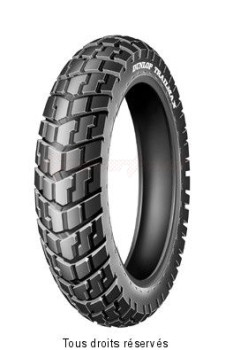 Product image: Dunlop - DUN651053 - Tyres enduro - cross 130x80 - 17.   Rear  ,   Brand : Dunlop  Category : Cross enduro tyre  Quality : Divers  130x80 - 17 trailmax 65s tt ar.  Banden enduro - cross 130x80 - 17