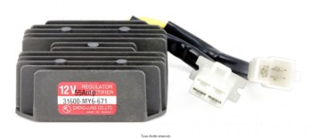 Product image: Kyoto - IND170 - Voltage Regulator Honda NX  XR 12V - Three-phase 5 connectors