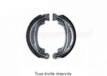 Product image: Sifam - KB125 - Brake Shoes Ø138.3 X L 25mm
