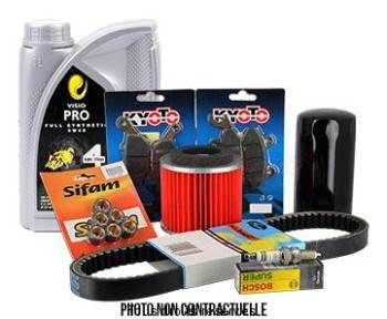 Product image: Sifam - KITHUILE06 - Maintenance kit NEXUS 125 IE EURO 3 + Oil 5W40 2L 2009-2010