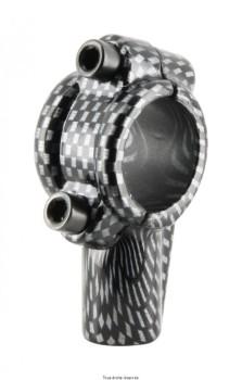 Product image: Kyoto - MIR9103 - Mirror Adapter Mirror Carbon  Carbon Look M10  Ø 22