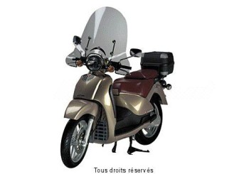 Product image: Fabbri - PAR1705A - Windscreen Aprilia Scarabeo 99 High without top edge