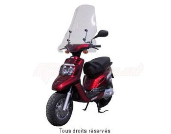 Product image: Fabbri - PAR2140A - Windscreen Mbk-Yamaha Boost.50-Bws High without top edge