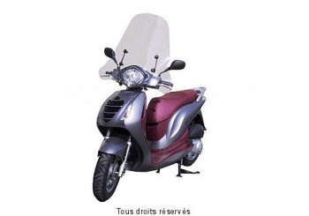 Product image: Fabbri - PAR2310E - Windscreen Honda Psi 125 Middle High without top edge
