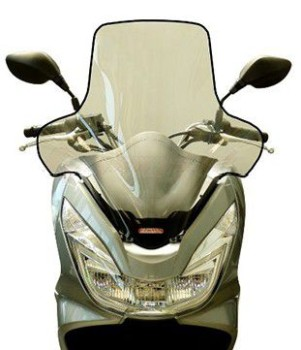 Product image: Fabbri - PAR3140BE - Windscreen Honda PCX 125 2014 High with top edgeApproved TUV