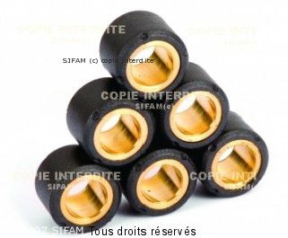 Product image: Sifam - ROL733 - Roller kit variator x8 Ø28x20-27g