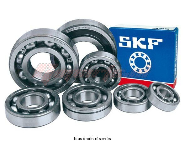 Product image: Skf - ROU6203-2RS1-S - Ball bearing 6203/2RS1 - SKF 17 x 40 x 12    0