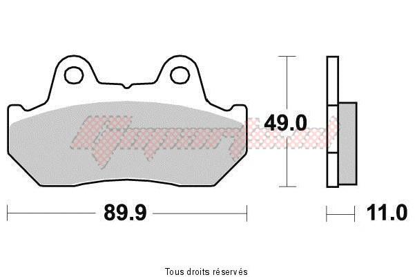 Product image: Sifam - S1003N - Brake Pad Sifam Sinter Metal   S1003N  1
