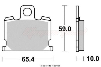 Product image: Sifam - S1013N - Brake Pad Sifam Sinter Metal   S1013N