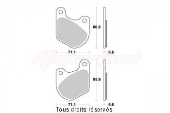 Product image: Sifam - S1025N - Brake Pad Sifam Sinter Metal   S1025N