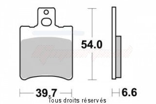Product image: Sifam - S1064N - Brake Pad Sifam Sinter Metal   S1064N