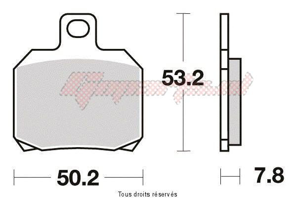 Product image: Sifam - S1110N - Brake Pad Sifam Sinter Metal   S1110N  1