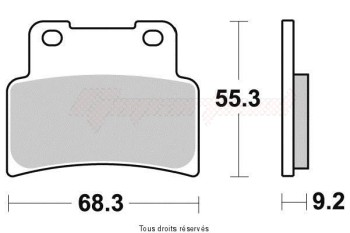 Product image: Sifam - S1191N - Brake Pad Sifam Sinter Metal   S1191N