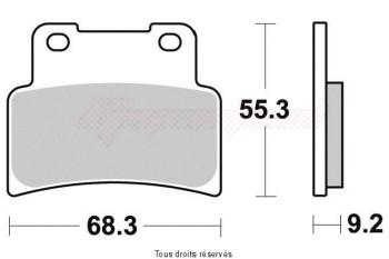 Product image: Sifam - S1191N - Brake Pad Sifam Sinter Metal   S1191N