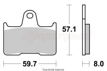 Product image: Sifam - S1436N - Brake Pad Sifam Sinter Metal   S1436N