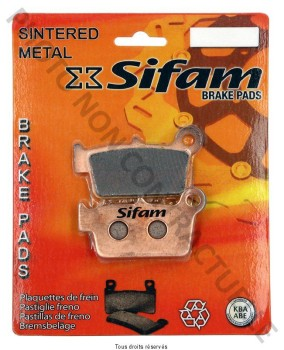 Product image: Sifam - S1942N - Brake Pad Sifam Sinter Metal   S1942N