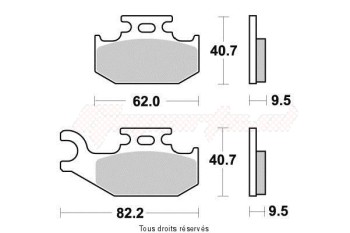 Product image: Sifam - S1979N - Brake Pad Sifam Sinter Metal   S1979N