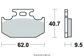 Product image: Sifam - S2013N - Brake Pad Sifam Sinter Metal   S2013N