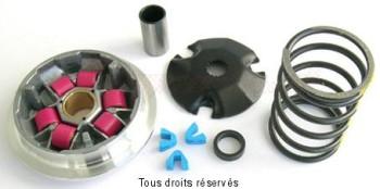 Product image: Athena - VAR1022 - Variator kit Piaggio 50 2T Aprilia-Derbi-Gilera-Italjet 6 rols 16x13-8g / 1 Spring