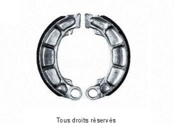 Product image: Sifam - VB133 - Brake Shoes Ø158.5 X L 40mm