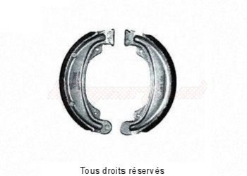 Product image: Sifam - VB139 - Brake Shoes Ø139 X L 30mm