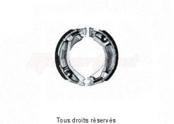Product image: Sifam - VB140 - Brake Shoes Ø109.5 X L 30mm
