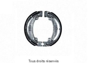 Product image: Sifam - VB143 - Brake Shoes Ø130.5 X L 22mm
