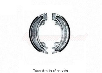 Product image: Sifam - VB148 - Brake Shoes Ø129 X L 25 Mm