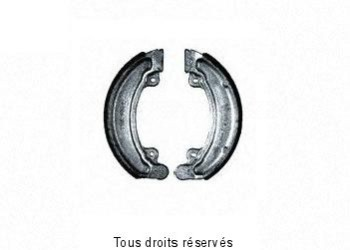 Product image: Sifam - VB149 - Brake Shoes Ø129 X L 25mm