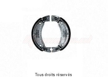 Product image: Sifam - VB229 - Brake Shoes Ø110 X L 25mm Hook Spring a l'extérieur