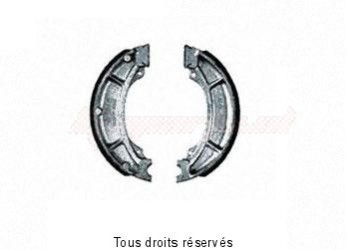Product image: Sifam - VB234 - Brake Shoes Ø129.3 X L 22mm