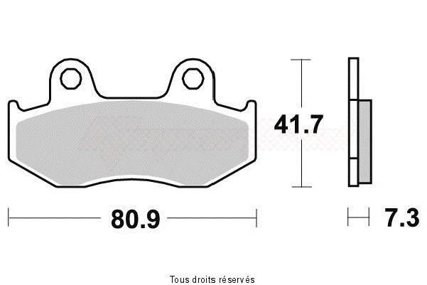 Product image: Vesrah - VD134JL - Brake Pad Vesrah Sinter Metal      VD134JL  0