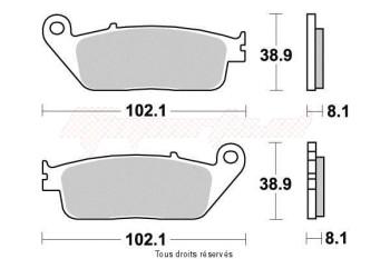 Product image: Vesrah - VD156JL - Brake Pad Vesrah Sinter Metal      VD156JL
