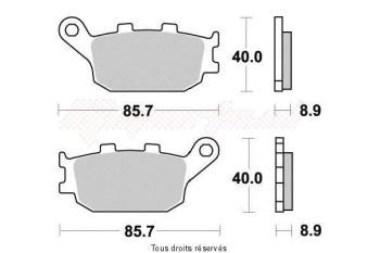 Product image: Vesrah - VD163JL - Brake Pad Vesrah Sinter Metal      VD163JL