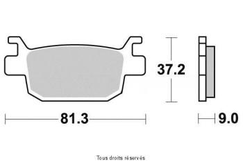 Product image: Vesrah - VD173JL - Brake Pad Vesrah Sinter Metal      VD173JL