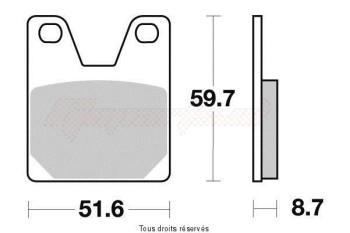 Product image: Vesrah - VD264JL - Brake Pad Vesrah Sinter Metal      VD264JL