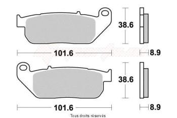 Product image: Vesrah - VD9009JL - Brake Pad Vesrah Sinter Metal      VD9009JL