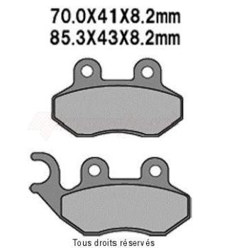 Product image: Vesrah - VD9012JL - Brake Pad Vesrah Sinter Metal      VD9012JL