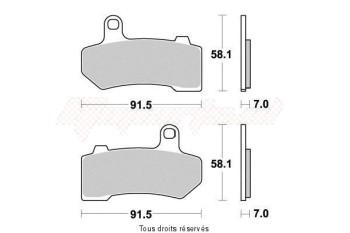 Product image: Vesrah - VD9025JL - Brake Pad Vesrah Sinter Metal      VD9025JL
