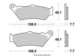 Product image: Vesrah - VD958JL - Brake Pad Vesrah Sinter Metal      VD958JL