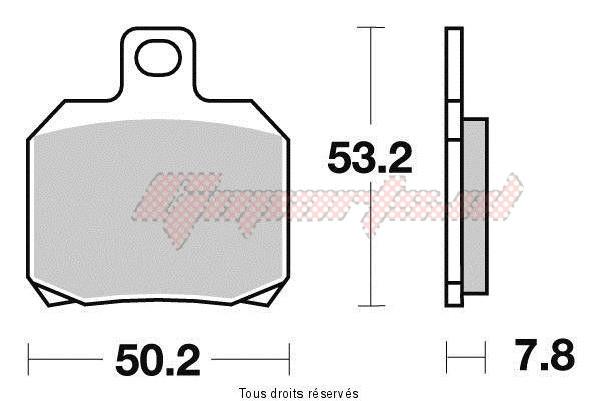 Product image: Vesrah - VD964JL - Brake Pad Vesrah Sinter Metal      VD964JL  0