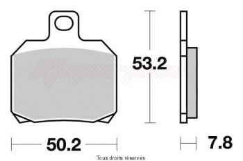 Product image: Vesrah - VD964JL - Brake Pad Vesrah Sinter Metal      VD964JL