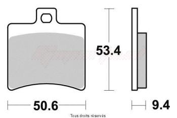 Product image: Vesrah - VD974JL - Brake Pad Vesrah Sinter Metal      VD974JL