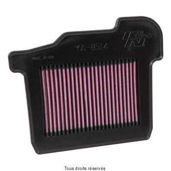 Product image: K&N - YA-8514 - Air Filter K&N Yamaha MT-09