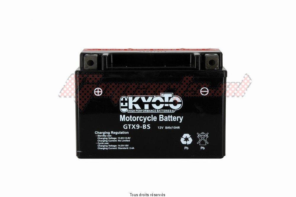 Product image: Kyoto - 712090 - Battery YTX9-bs  2