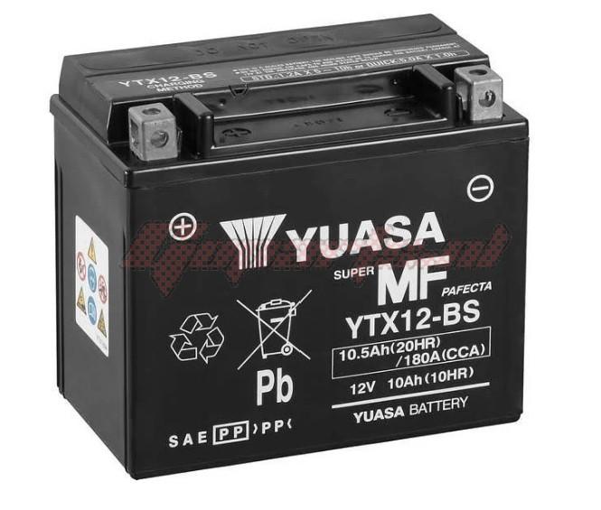 Product image: Yuasa - 812120 - Battery Ytx12-bs L 150mm  W 87mm  H 131mm 12v 10ah  1